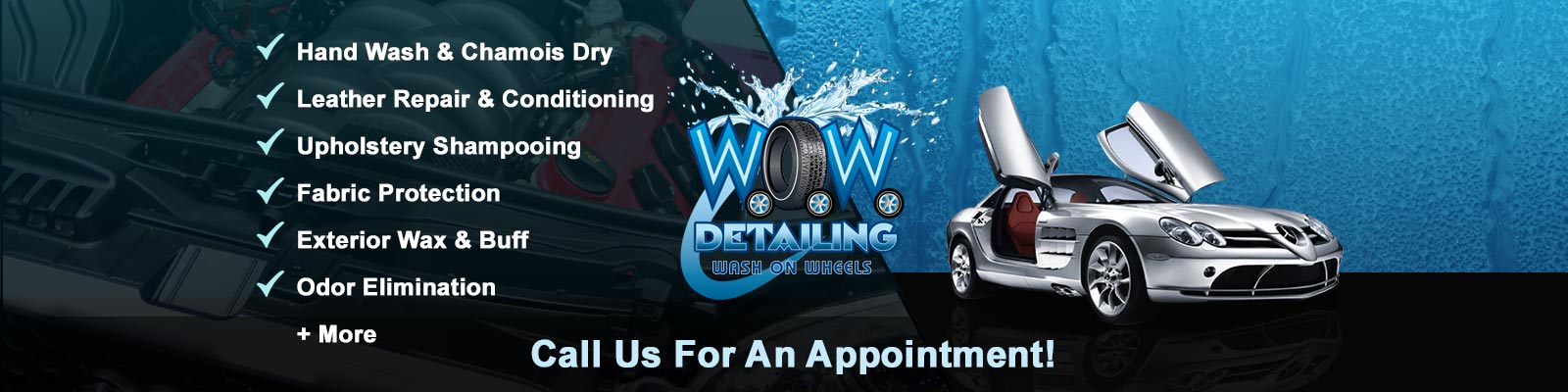 Exterior Auto Detailing Services Interior Packages Other Available